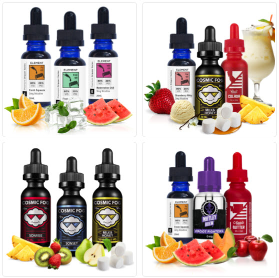 DirectVapor E-Juice Sampler Packs