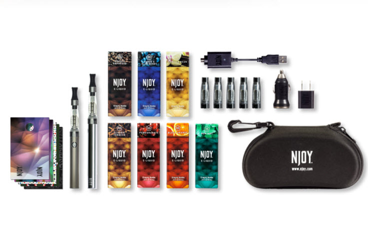 Electronic cigarette juice store