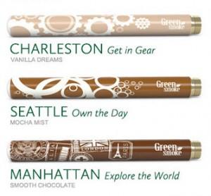 Green Smoke's Designer Batteries