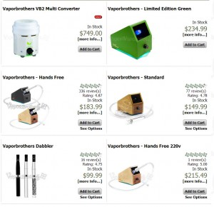 Vapor Brothers Products at Vape Warehouse