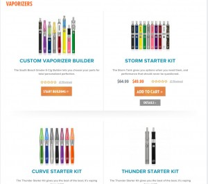 South Beach Smoke vaporizer kits