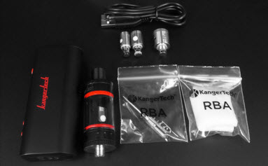 TOPBOX Mini Kit With RBA and Cotton